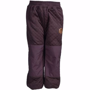 Soft Thermo bukser puce brown