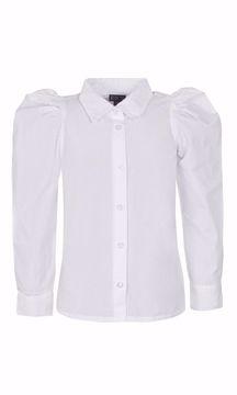 Skjorte hvid med pufærmer