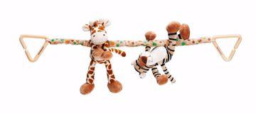 Barnevognsophæng giraf og tiger