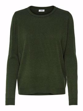 Strik pullover grøn