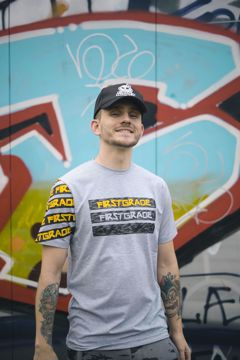 T-shirt Sk8 grå