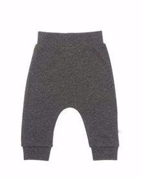 Bukser antrazit melange