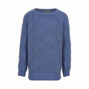 Strik pullover 100% bomuld
