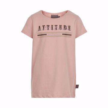 T-shirt Attitude Rose Smoke
