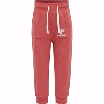 Bukser med lomme foran faded rose