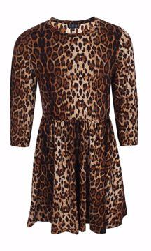 Kjole leopardprint