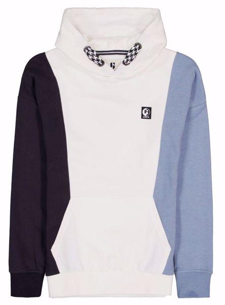 Sweatshirt med hætte off white