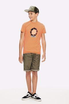 T-shirt neon orange