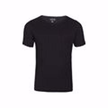 T-shirt med hul,ømster sort
