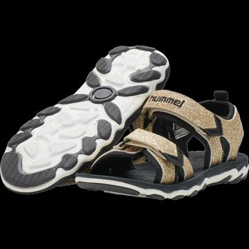Sandal med glimmer