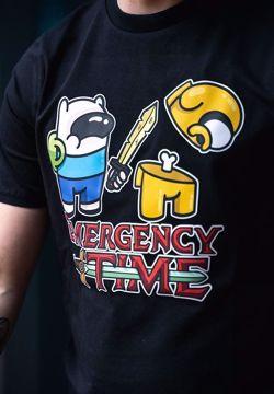 Crewzard & Yoda AMONG US t-shirt sort