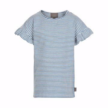 T-shirt med striber