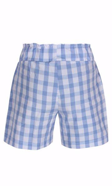 Shorts ternet lyseblå