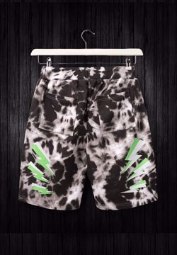 Acid Tie dye shorts