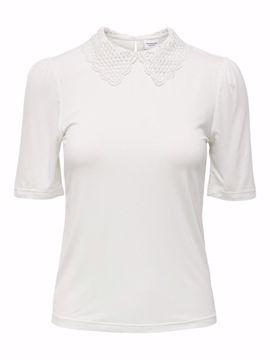 T-shirt med fin krave cloud