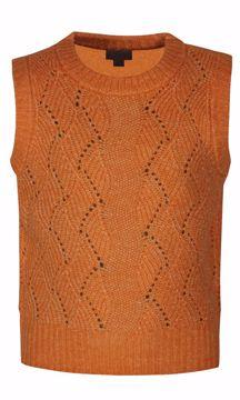 Vest strik orange