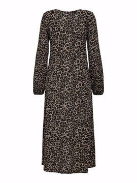 Kjole lang leopard