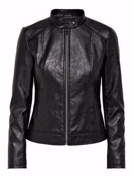 Jakke faux leather