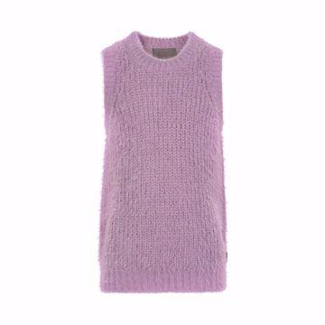 Slipover fluffy lavender mist
