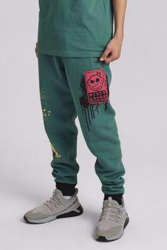 Grafitti Pants green